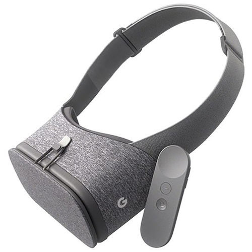 Google Daydream View VR 3D Headset & Controller - Slate