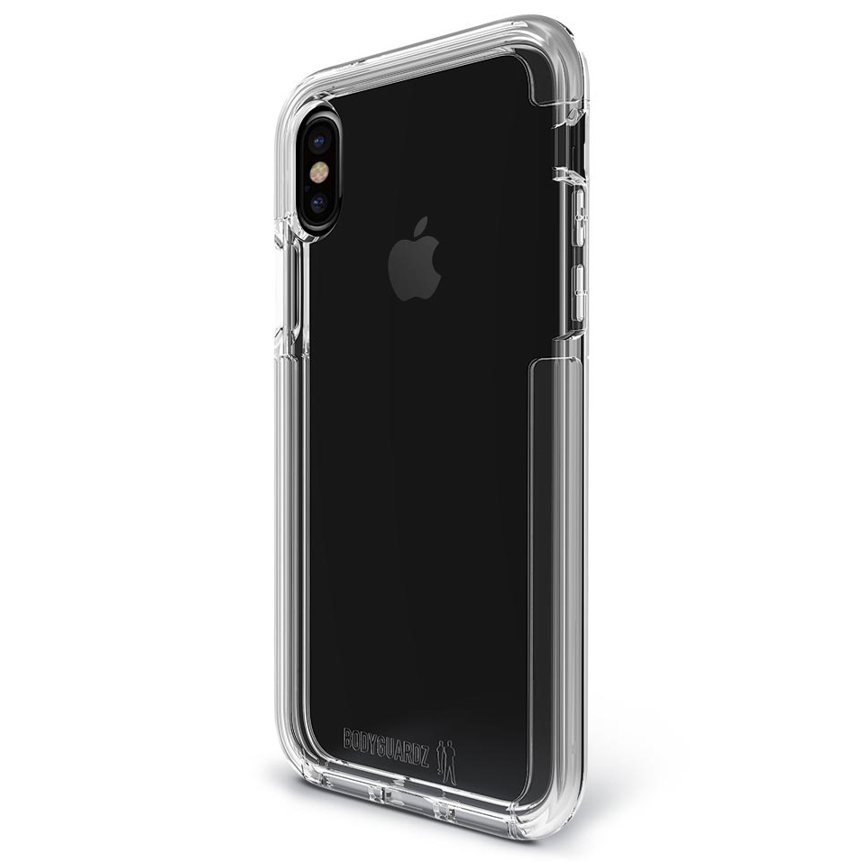 bodyguardz ace pro case for apple iphone xs clear. Black Bedroom Furniture Sets. Home Design Ideas