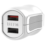 EFM 3.4A Dual USB Power Adapter Wall Charger for iPhone / iPad - White