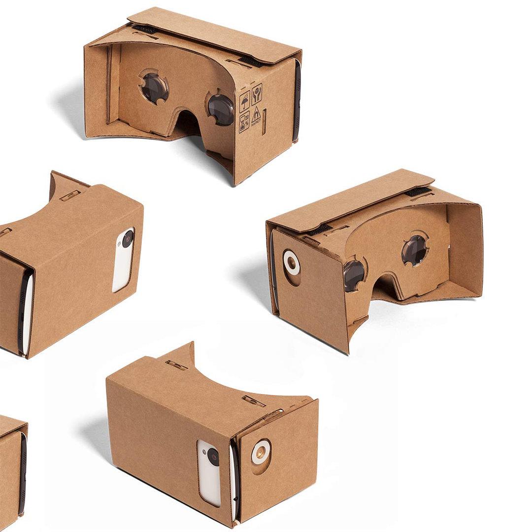 Google Cardboard Vr 3d Glasses Headset Xl Edition