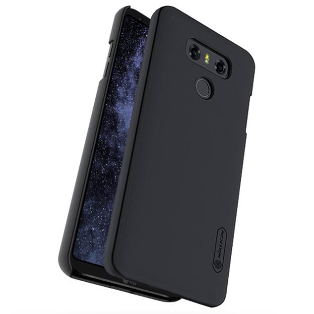 buy online 3fbcb bd156 Nillkin Frosted Shield Hard Case - LG G6 (Black)