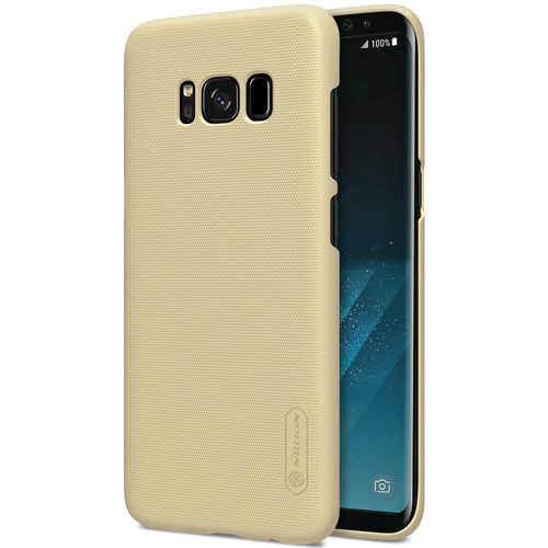 Nillkin Frosted Shield Hard Case for Samsung Galaxy S8 - Gold