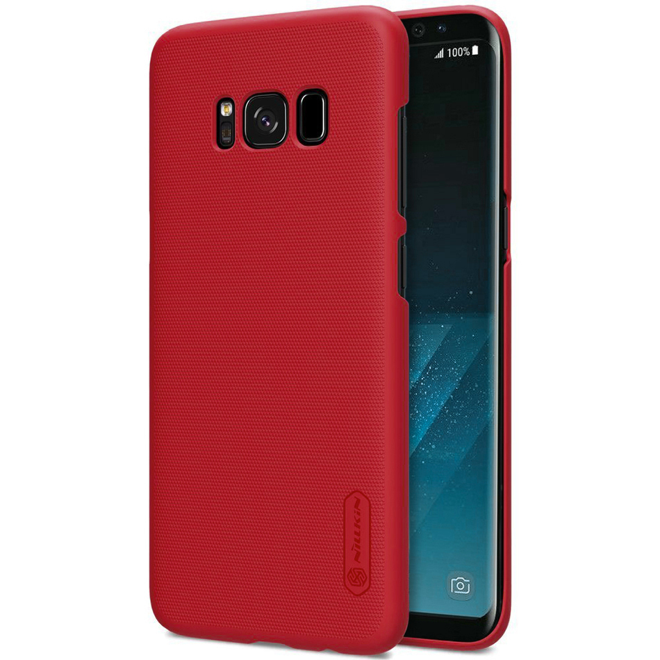 low priced 48890 1b76d Nillkin Frosted Shield Hard Case - Samsung Galaxy S8 (Red)