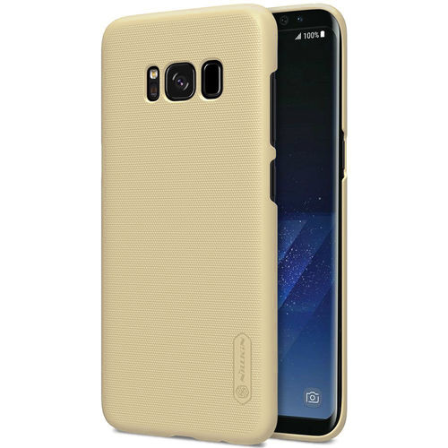 Nillkin Frosted Shield Hard Case for Samsung Galaxy S8+ (Gold)