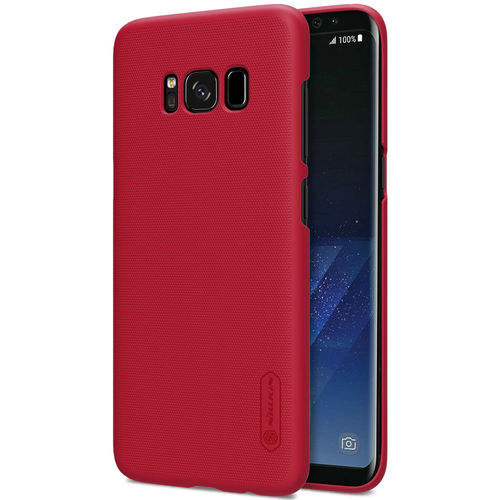 Nillkin Frosted Shield Hard Case for Samsung Galaxy S8+ (Red)