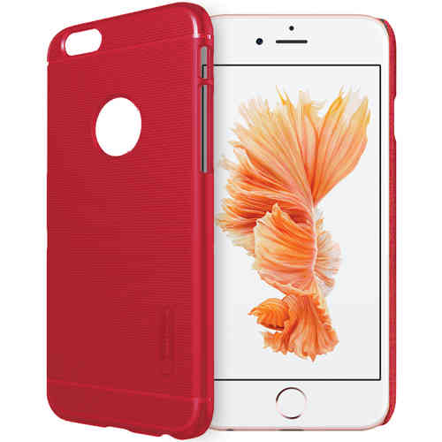 Nillkin Super Frosted Shield Case for Apple iPhone 6 / 6s - Red