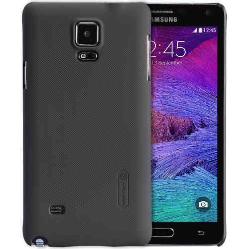 Nillkin Frosted Shield Hard Case for Samsung Galaxy Note 4 - Black