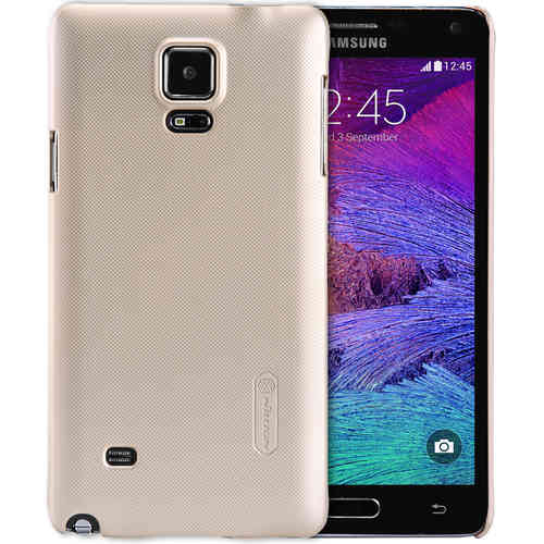 Nillkin Frosted Shield Hard Case for Samsung Galaxy Note 4 - Gold