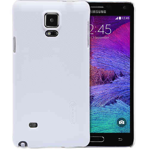 Nillkin Frosted Shield Hard Case for Samsung Galaxy Note 4 - White