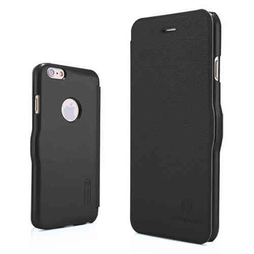 Nillkin Fresh Leather Flip Case for Apple iPhone 6 / 6s - Black