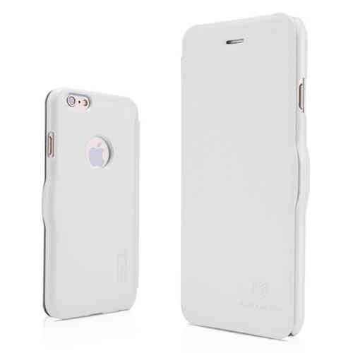 Nillkin Fresh Leather Flip Case for Apple iPhone 6 / 6s - White