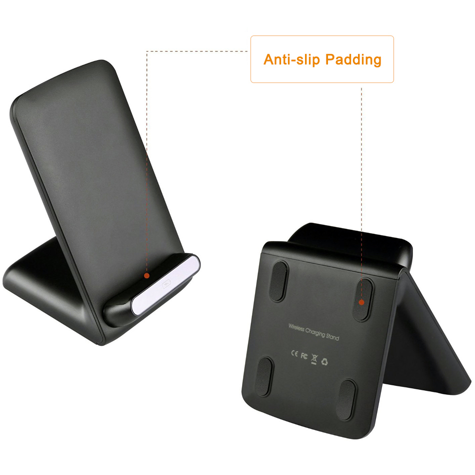 10w Qi Fast Wireless Charging Stand For Samsung Galaxy S8