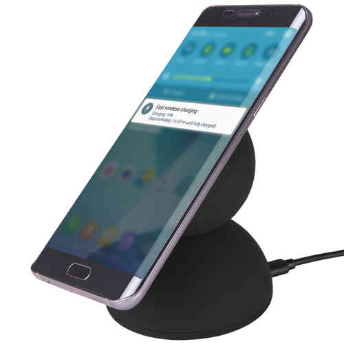 10W Adaptive Fast Qi Wireless Charger & Stand for Mobile Phones