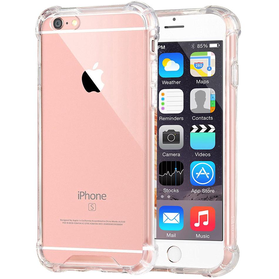 sale retailer a73ee 9b6a6 Flexi Shock Air Cushion Case - iPhone 6s (Clear)
