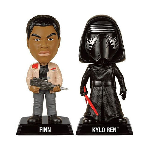 Funko Star Wars Finn & Kylo Ren Vinyl Action Figure Bobble-Heads