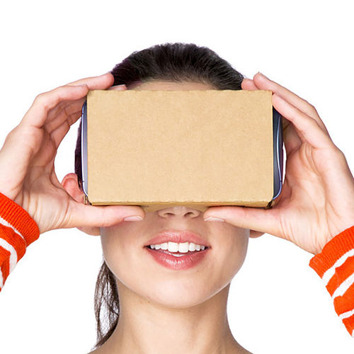 Google Cardboard 2.0 (2nd Gen) VR Virtual Reality Headset for Phones