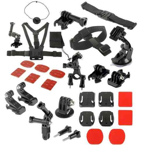 31-Set Ultimate Accessories Attachment Pack for GoPro Hero 4 / 3 / 2 / 1