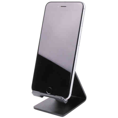 Aluminium Desk Stand for Mobile Phones & Small Tablets - Black