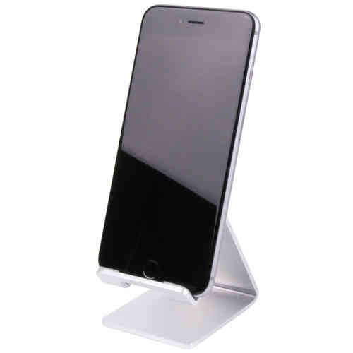 Aluminium Desk Stand for Mobile Phones & Small Tablets - Silver