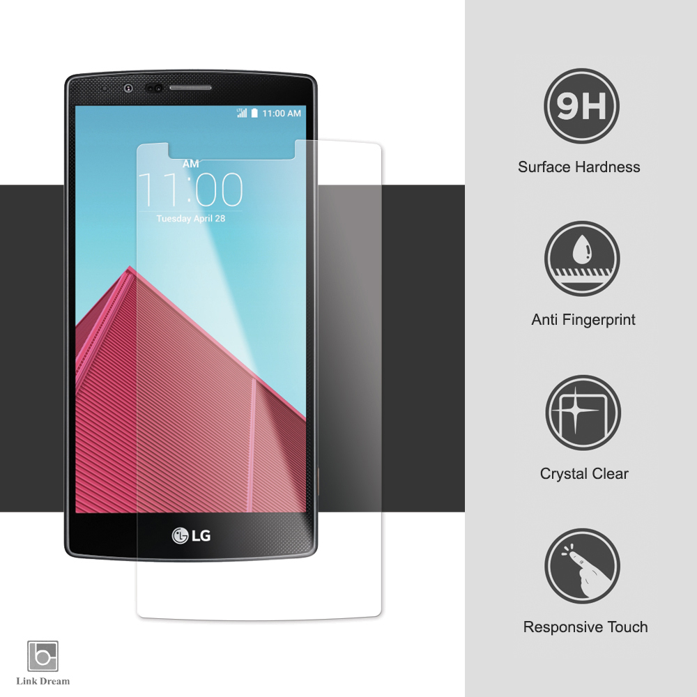 Link Dream Tempered Glass Screen Protector Lg G4