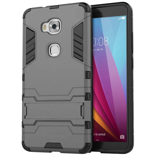 Slim Armour Tough Shockproof Case - Huawei GR5 2015 / Honor 5x - Grey