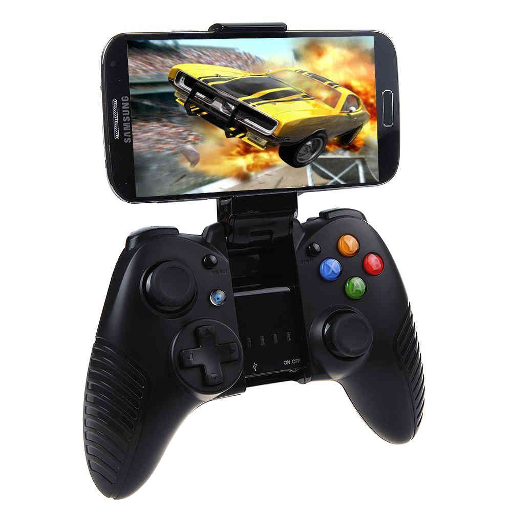 G910 Wireless Bluetooth Game Controller Ios Android Gear Vr Box Smartphone Gamepad Holder