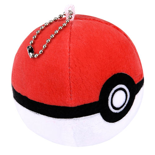 Pokemon Go Ball Soft Cosplay Plush Toy with Keychain (8cm)