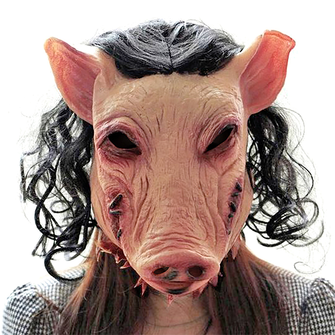 máscaras más aterradoras para usar este Halloween