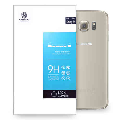 Nillkin 9H Tempered Glass Back Protector Cover for Samsung Galaxy S6
