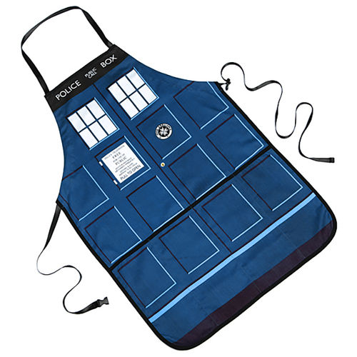 Official Doctor Who TARDIS Kitchen Apron