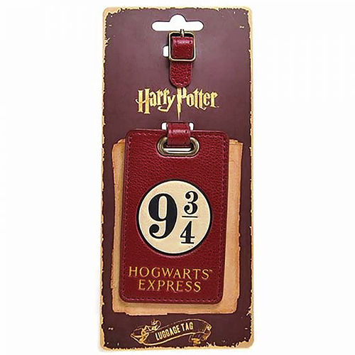 Harry Potter - Platform 9 3/4 Hogwarts Express Travel Luggage Tag