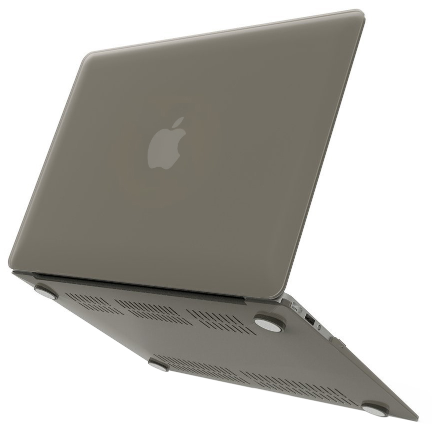 promo code bab6a 132b3 Frosted Shell Hard Case - Apple MacBook Air 13-inch (Grey)