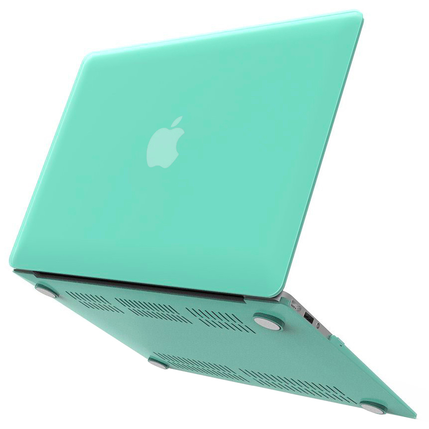 new style ba461 f3b85 Frosted Shell Hard Case - Apple MacBook Air 13-inch (Green)