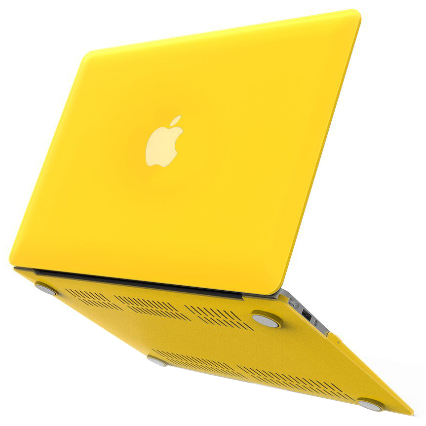 best sneakers 6368d f644b Frosted Shell Hard Case - Apple MacBook Air 13-inch (Yellow)