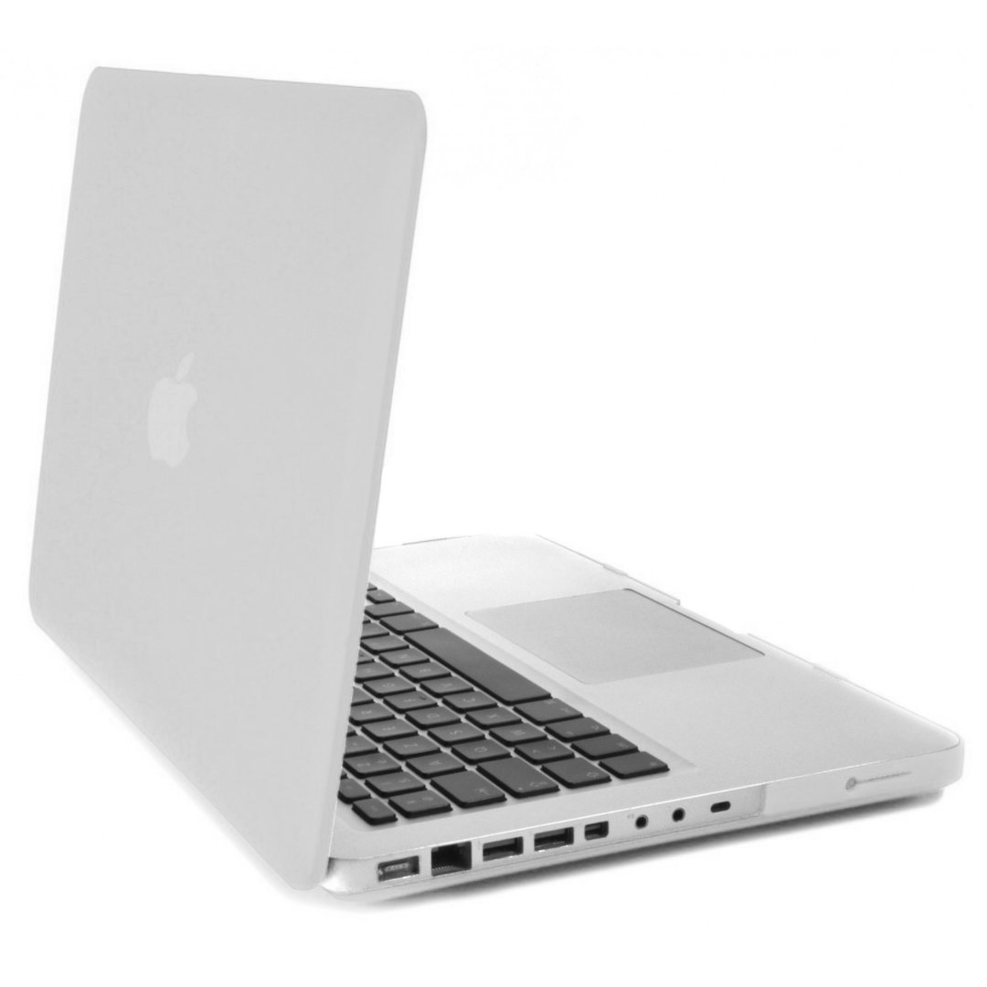 White Macbook Cover ~ Non retina hard case for apple quot macbook pro a white