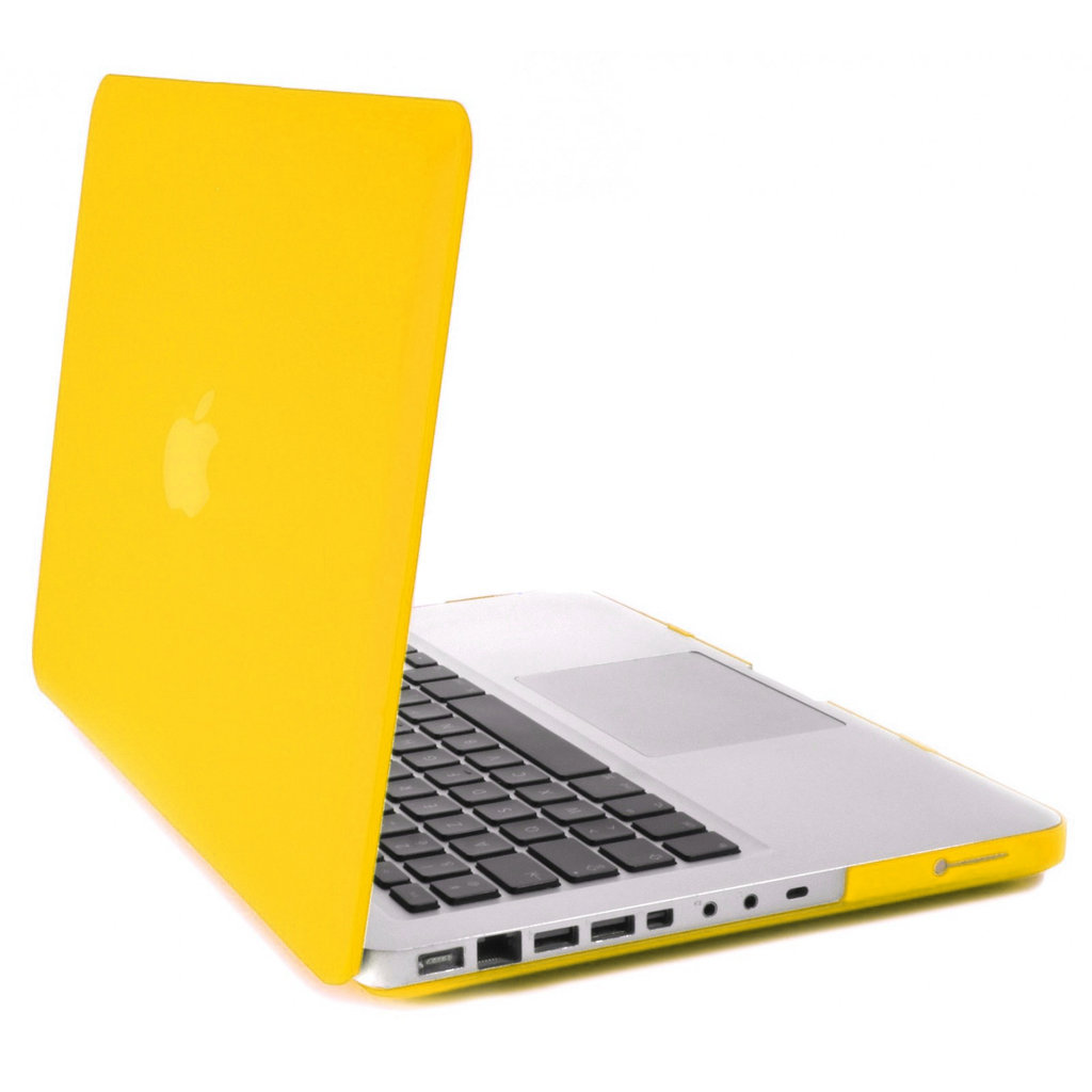 non retina hard case for apple 13 macbook pro yellow. Black Bedroom Furniture Sets. Home Design Ideas