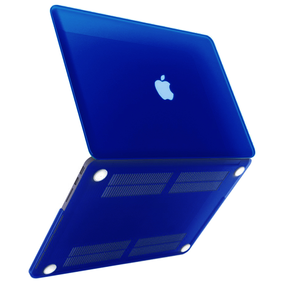 sports shoes 55fb4 916b9 Frosted Hard Case for Apple MacBook Pro Retina (13-inch) - Dark Blue