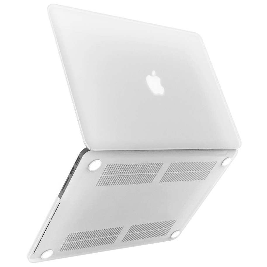 White Macbook Cover ~ Frosted hard case apple macbook pro retina inch white