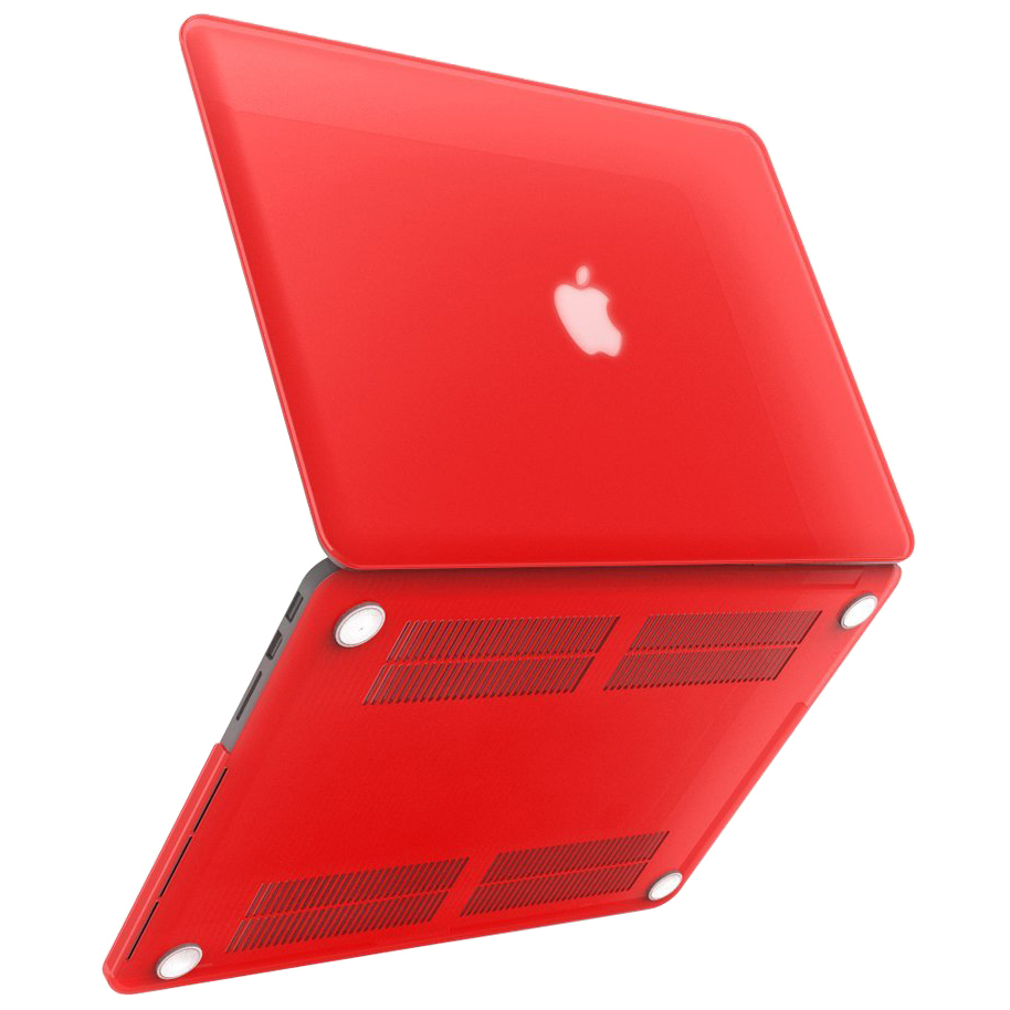 detailed look 57e7d 6ca09 Frosted Hard Case - Apple MacBook Pro Retina 13-inch (Red)