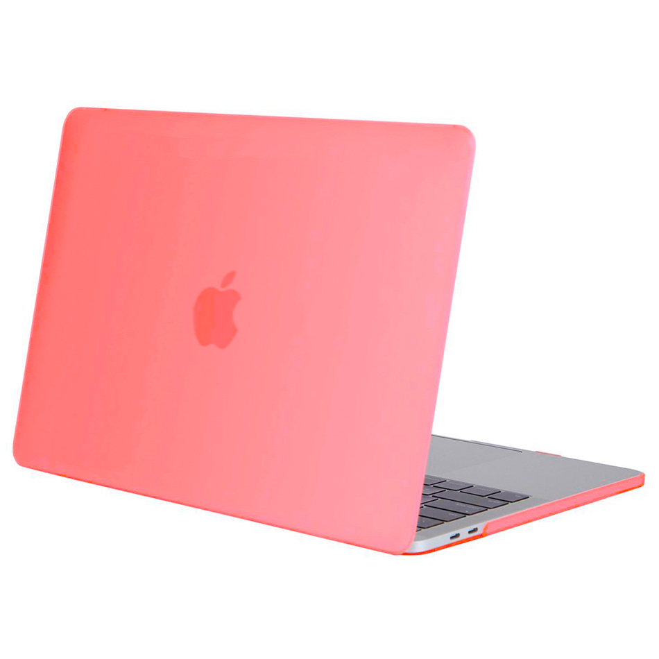 frosted case 13 inch apple macbook pro touch bar 2017 pink. Black Bedroom Furniture Sets. Home Design Ideas