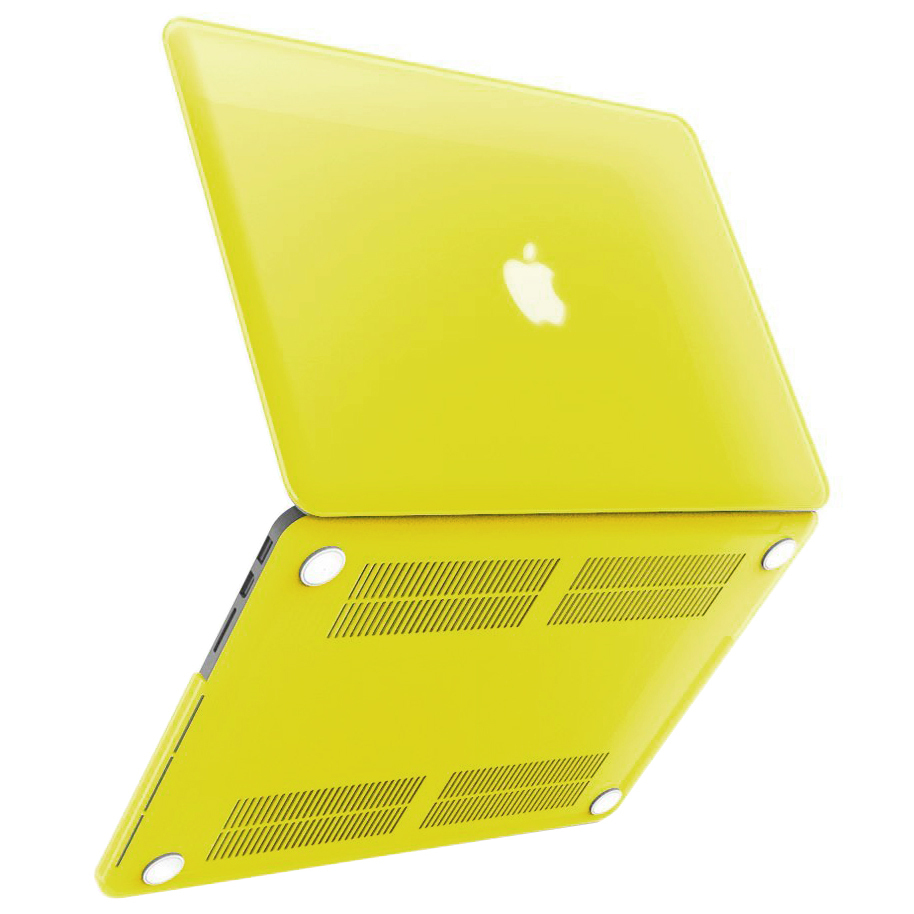 new style ddb69 aa22e Frosted Hard Case - Apple MacBook Pro Retina 13-inch (Yellow)