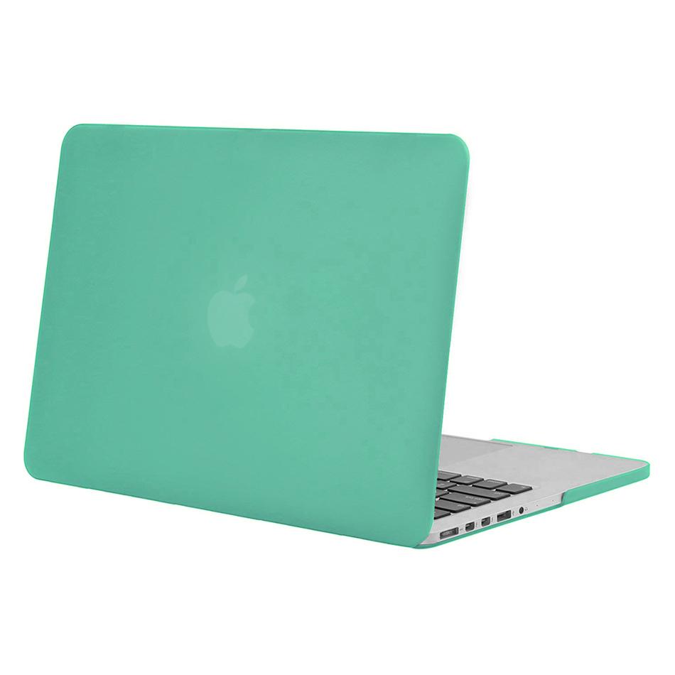 frosted hard case apple macbook pro retina 15 inch green. Black Bedroom Furniture Sets. Home Design Ideas