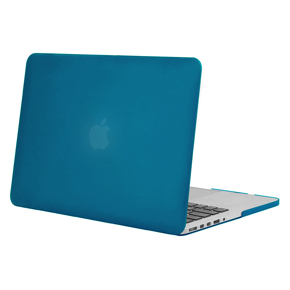 outlet store 7442d ecc67 Frosted Hard Case for Apple MacBook Pro Retina (15-inch) - Light Blue