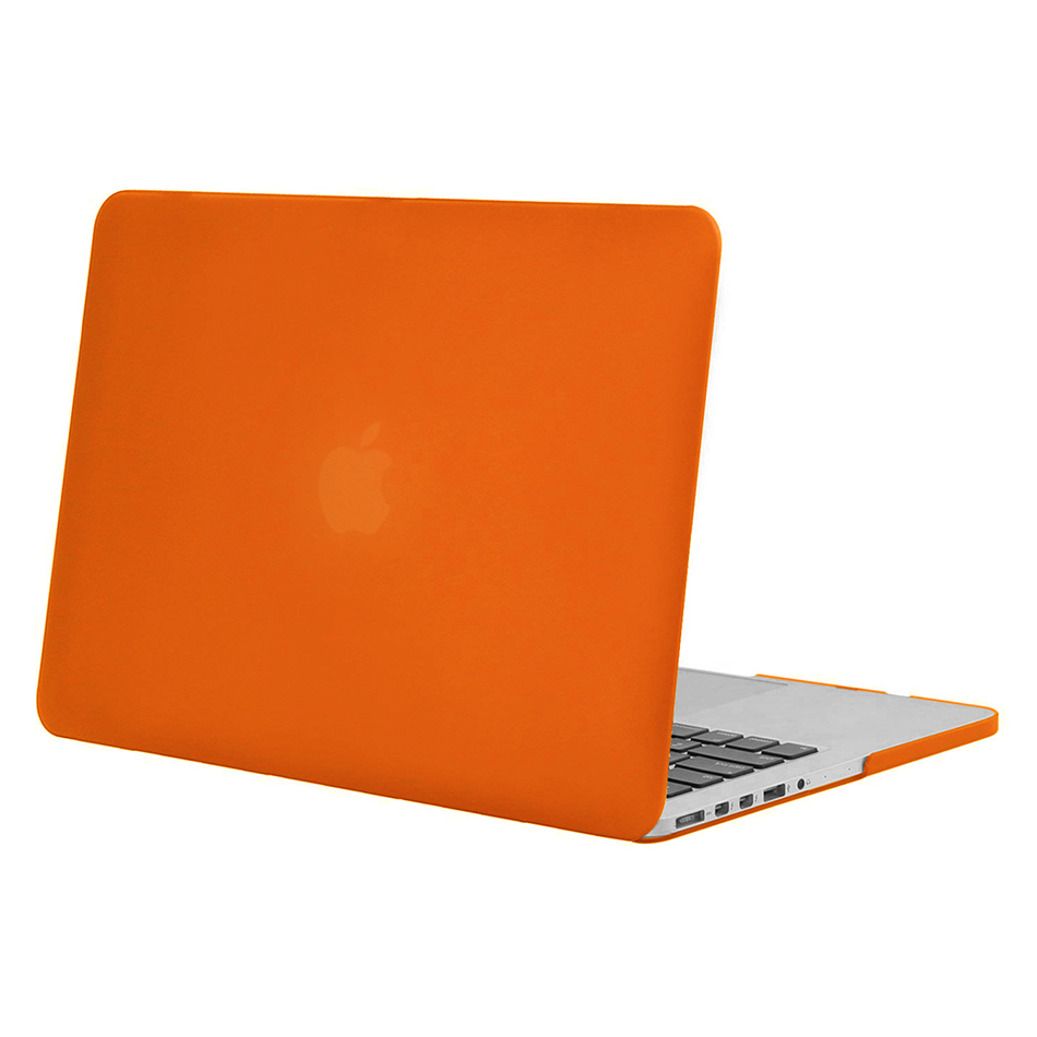 low priced 7f40e 5c83f Frosted Hard Case for Apple MacBook Pro Retina (15-inch) - Orange