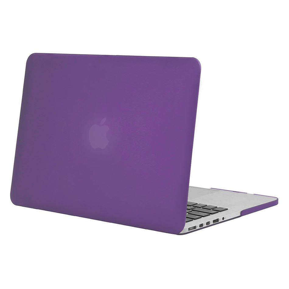 online store c94f4 50dbb Frosted Hard Case for Apple MacBook Pro Retina (15-inch) - Purple