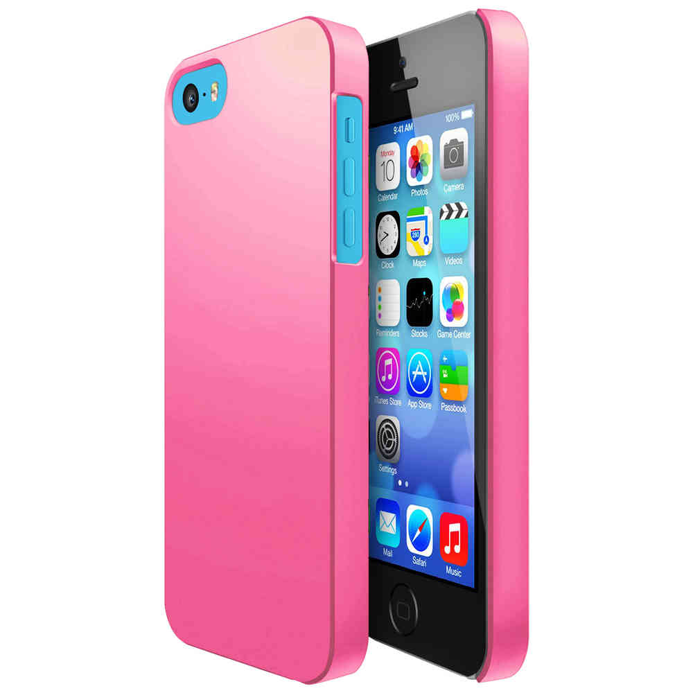 buy popular 84d61 0a645 Hard Shell Candy Case for Apple iPhone 5c - Light Pink