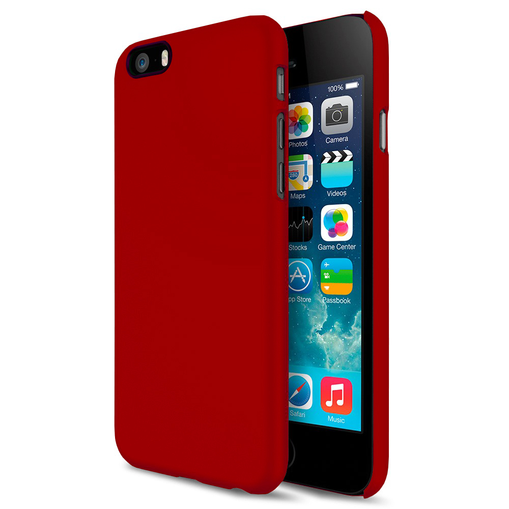 watch 34100 e758f PolySnap Hard Case for Apple iPhone 6 / 6s - Cherry Red (Matte)