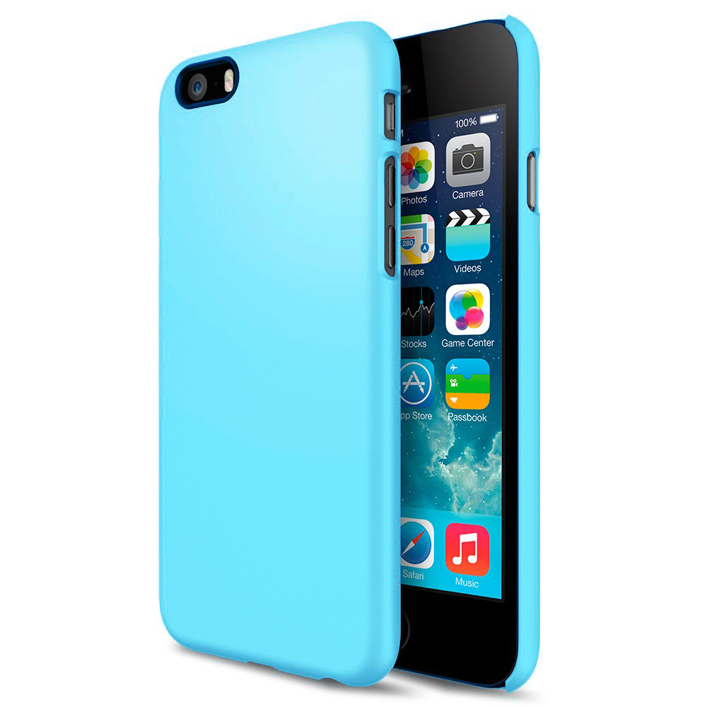 best sneakers 27bbe 2af9f PolySnap Hard Case for Apple iPhone 6 / 6s - Sky Blue (Matte)
