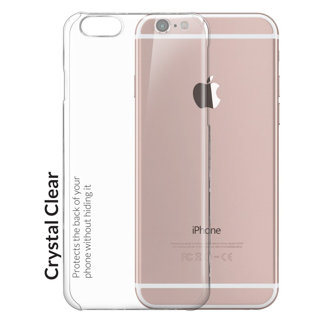 save off 263e3 74acf PolySnap Crystal Hard Case - Apple iPhone 6s Plus (Clear)