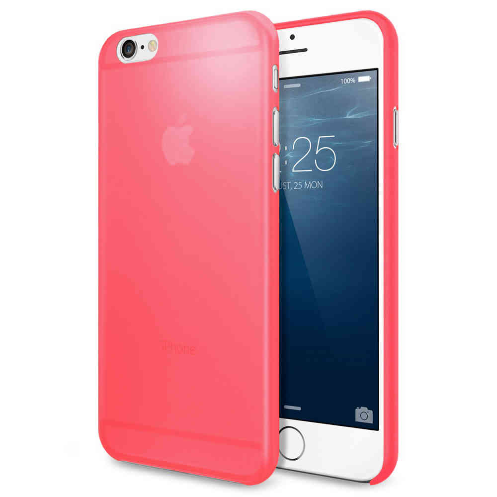 Air Skin Razor Thin Case for Apple iPhone 6 Plus   6s Plus - Red 55a5426b6444
